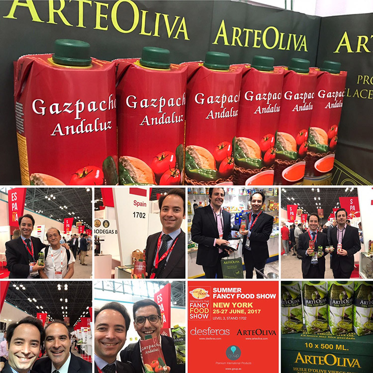 ArteOliva en la Fancy Food Show 2017 de Nnueva York.