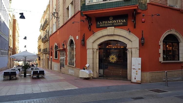 Nuevo local de La Piemontesa en Tarragona.