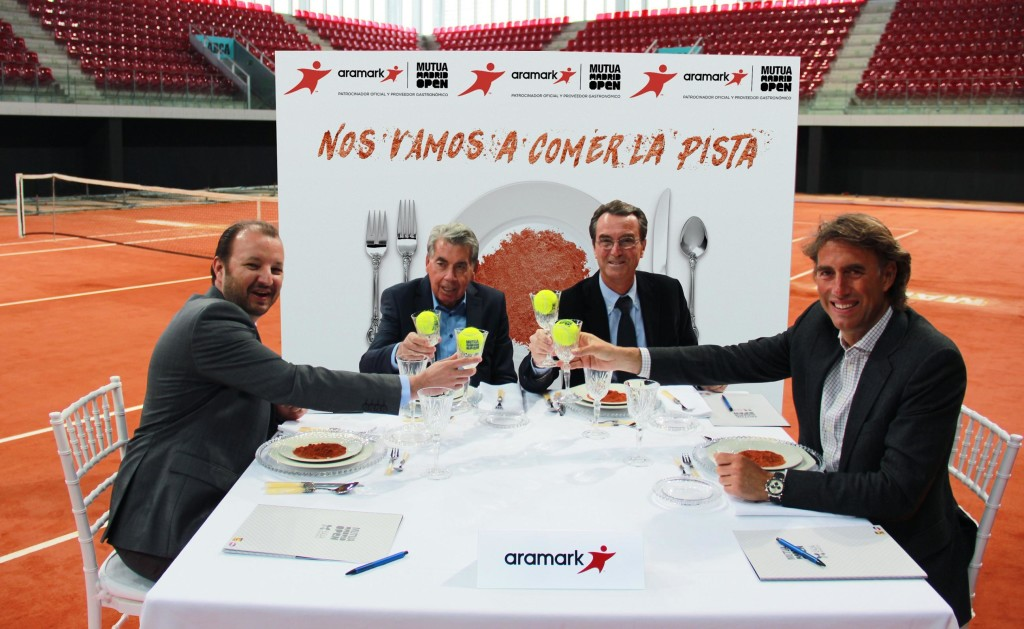 Ndp Aramark y Madrid Mutua Open