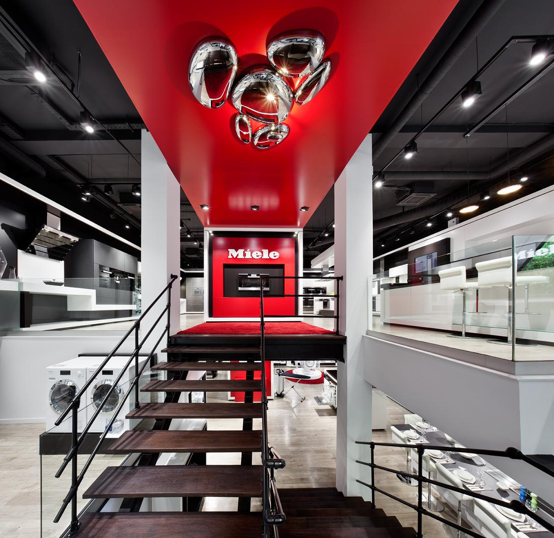 Showroom de Miele en Claudio Coello (Madrid).