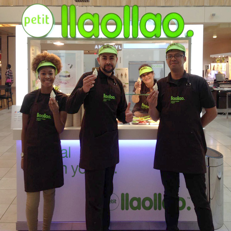 llaollao en el centro comercial The Galleria, en Houston (Texas).