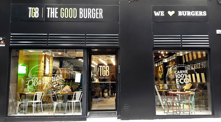 Nuevo restaurante de The Good Burger en Oviedo.