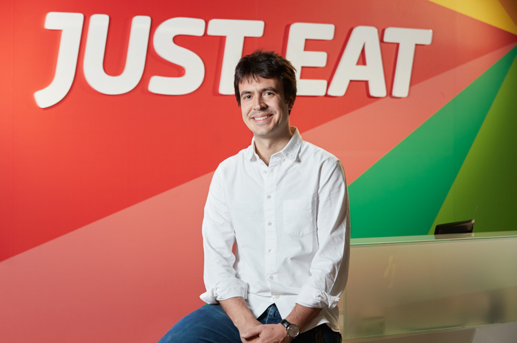 Patrik Bergareche, nuevo director General de Just Eat en España.